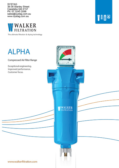 Walker Filtration Alpha Brochure - Systag